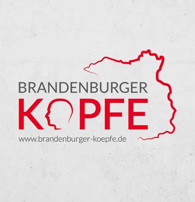 BrandenburgerKoepfe Teaser Logo Grafik Design Potsdam Staatskanzlei