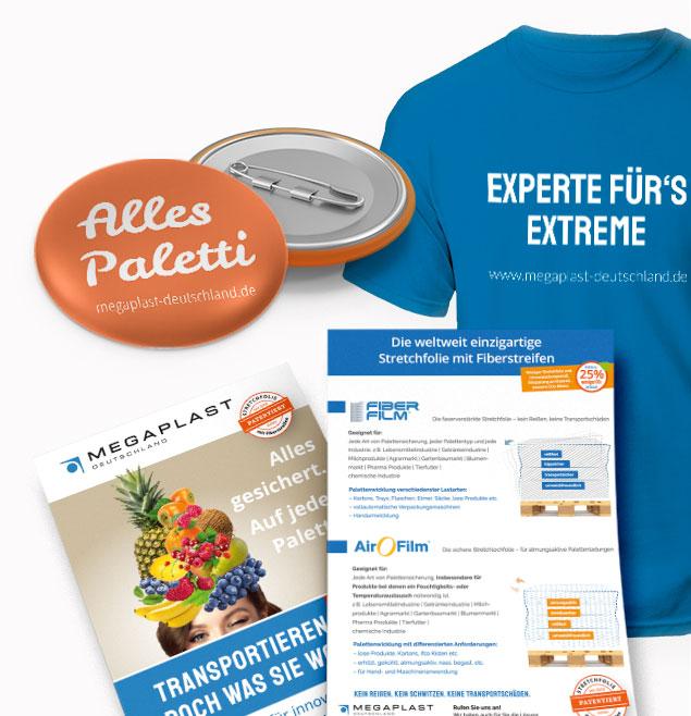 Megaplast Teaser Verpackungsinnovation Deutschland Analogmarketing Werbemittel Kampagnen Mailing Giveaways