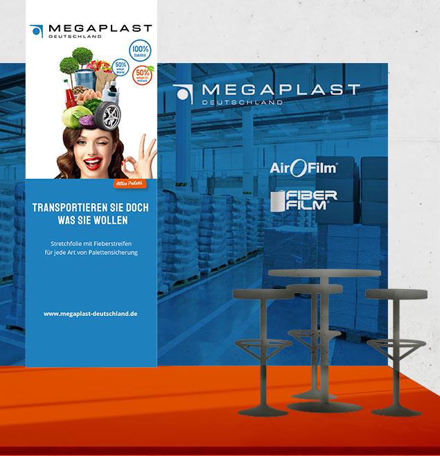 Megaplast Teaser Messedesign Gestaltung Im Raum2