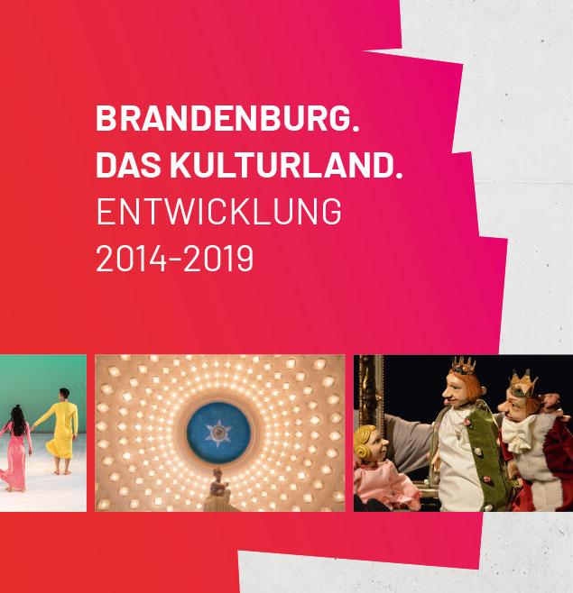 Kulturbericht Land Brandenburg Schweiger Design Broschuere Editorial