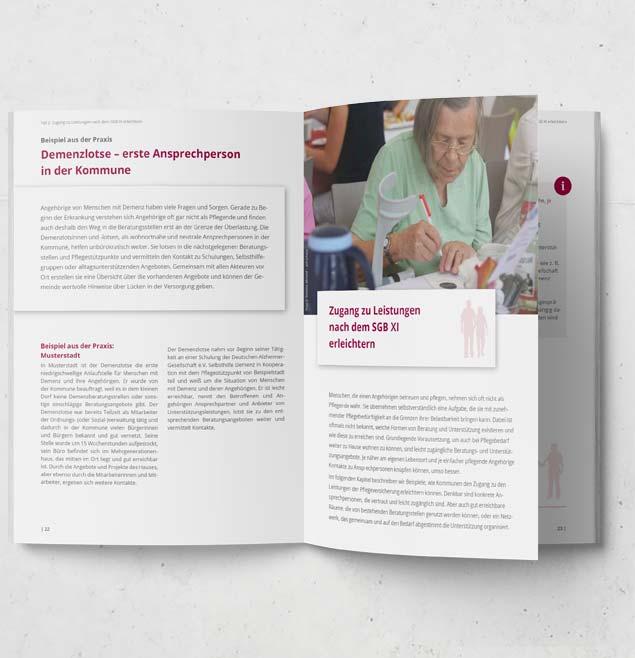 FAPIQ Teaser Print Broschuere EditorialDesign