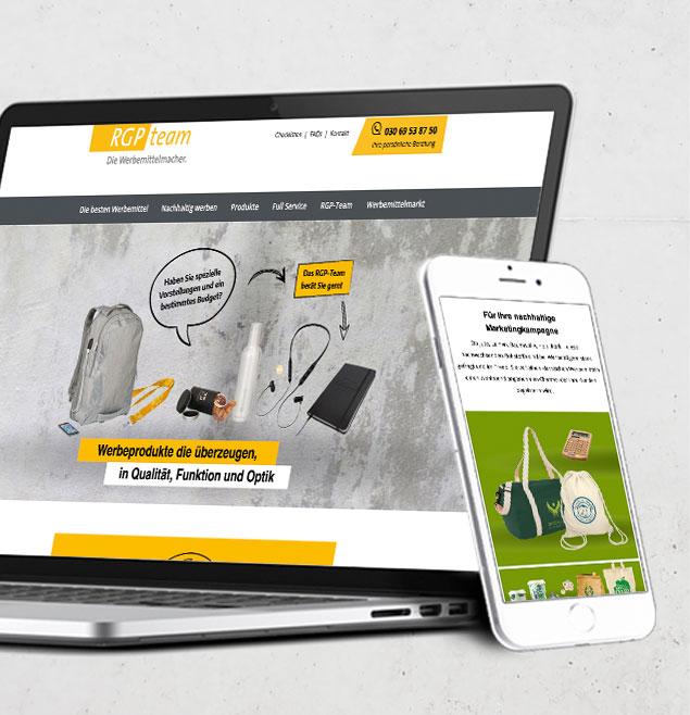 Rgp Teaser Schweiger Design CMS WordPress Webseite