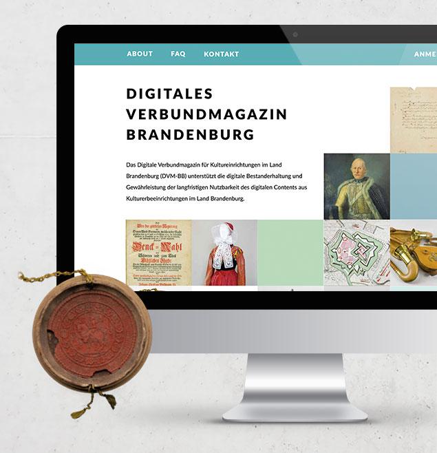 Digitales Verbundmagazin Brandenburg Teaser SchweigerDesign CorporateDesign CMS WordPress Webseite Responsive